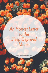 A letter to new moms