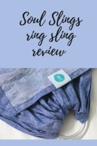 Soul Slings Ring Sling Review