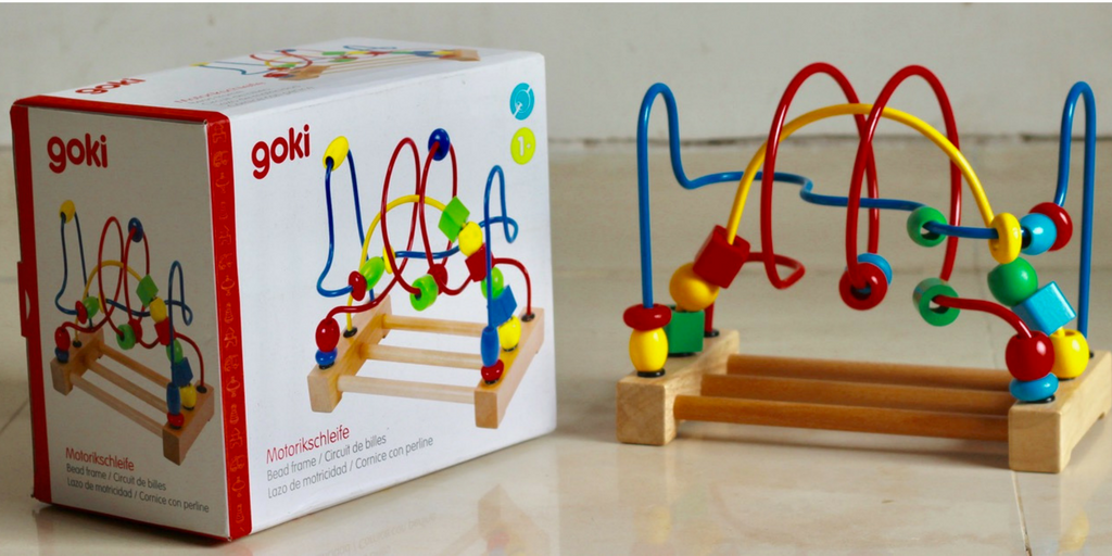 Toyroom Toys - Goki Bead Coaster : Review