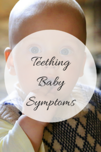 Teething baby symptoms