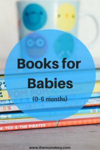 Children's books age 0-6 months