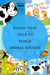 Books that help in teaching animal sounds to toddlers