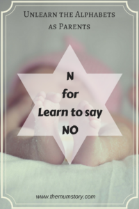 "Why is it Important to Learn to Say ""NO"""