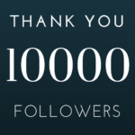 Thank You 10000 Followers on Instagram